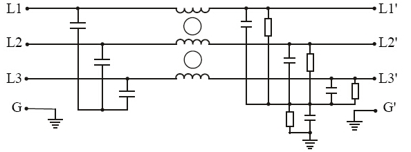 pe3120 275  480v elevator compact filter